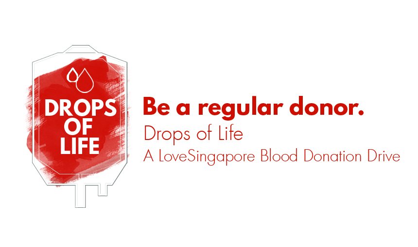 Drops Of Life A Lovesingapore Blood Donation Drive