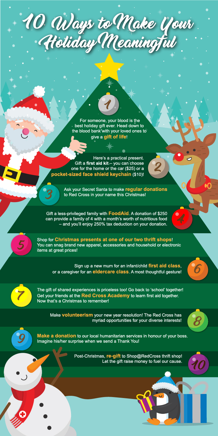 10 ways to make your holiday meaningful